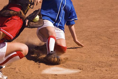 Baseball Socks - Blue -Medium