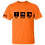 Thumbnail: Orange Eat-Sleep-Dig T-Shirt