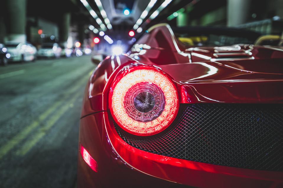Ferrari F458 Spider Cover