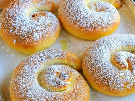 Испанские булочки  «ENSAIMADAS»