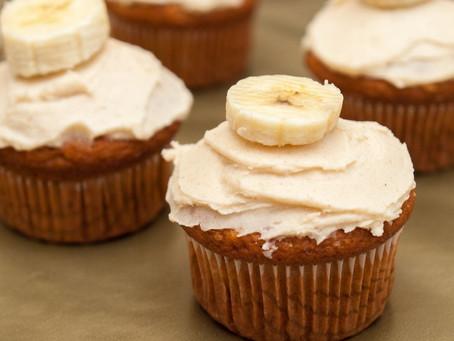 Банановый кекс на молоке
