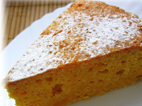 Морковный пирог с   сыром