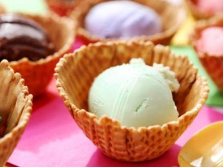 Домашнее фисташковое   мороженое со сливками