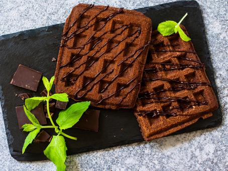 Шоколадные бельгийские вафли