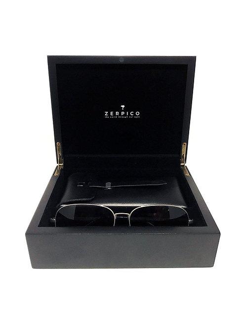 Titanium Aviator Sunglasses Gift Box - TITAN