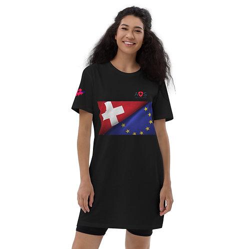 AVICII SWISS Organic cotton t-shirt dress