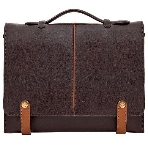 """Eton 15"""" Laptop Compatible Leather Briefcase"""