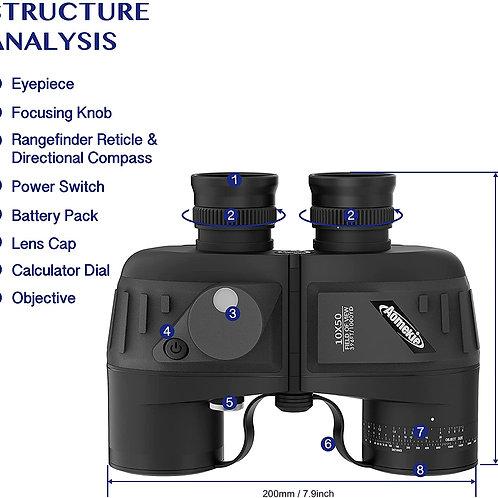 10x50 Binoculars forAdults Low Light Night Vision Marine Military Binoculars