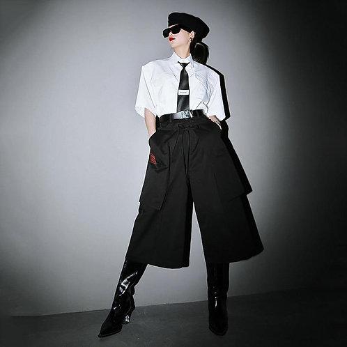 Tamura Wide Leg Crop Pants