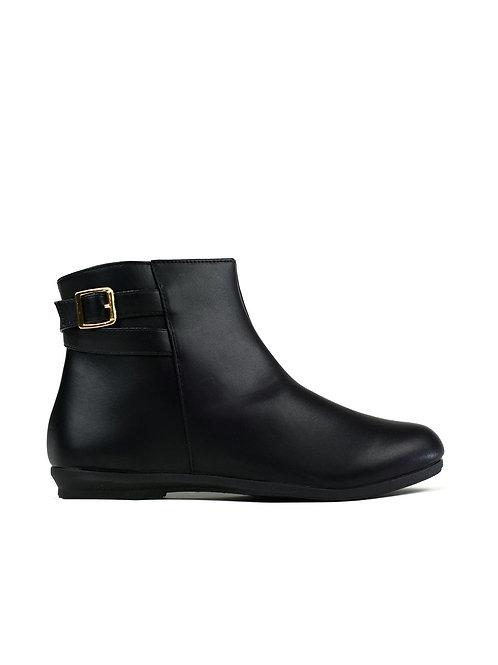 The Little Fleece Boot Black