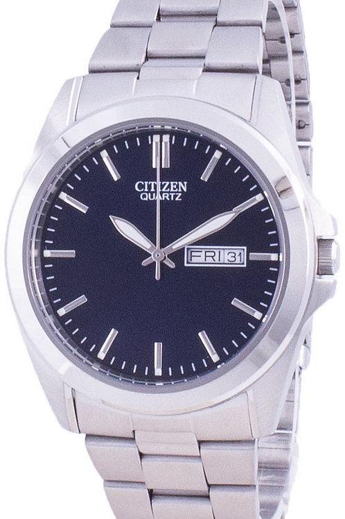 Citizen Blue Dial Stainless Steel Quartz BF0580-57L Men's Watch.