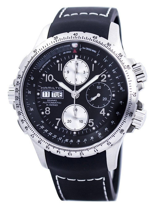 Hamilton Khaki X-Wind Automatic Chronograph H77616333 Men's Watch.