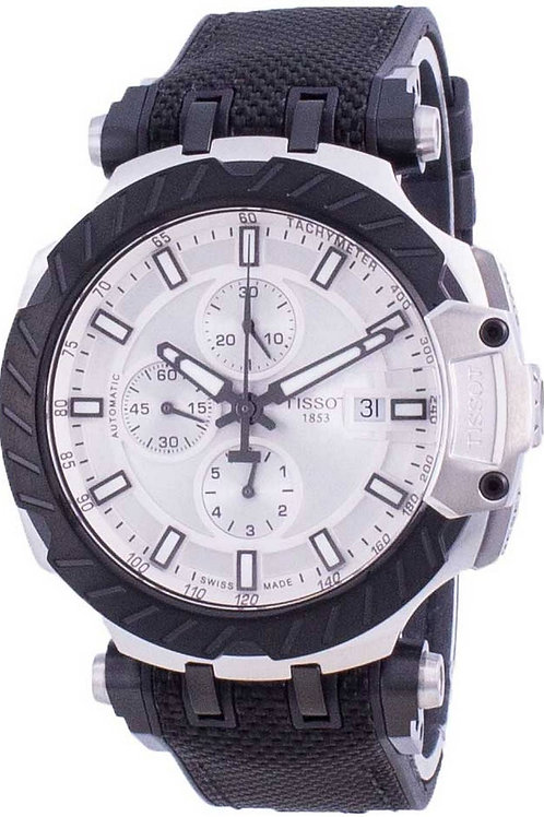Tissot T-Race Chronograph Automatic T115.427.27.031.00 T1154272703100 100M Men's
