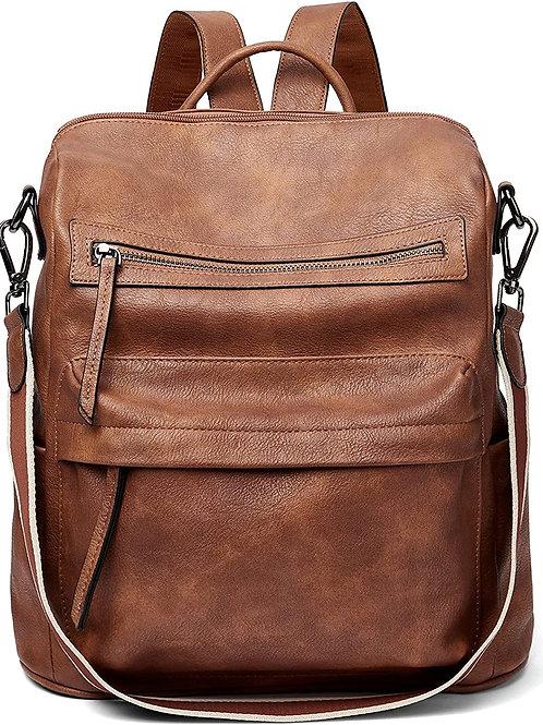 Backpack Purse for Women Fashion Leather Designer Travel Large Ladies Shoulder