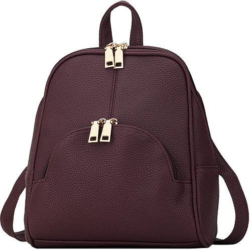 Backpack Purse Casual daypacks for ladies Synthetic Leather Shoulder Bag