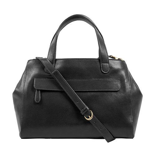 Ava Leather Satchel