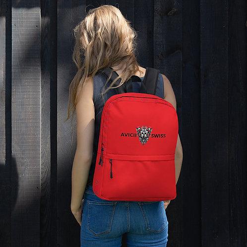 AVICII SWISS Red Backpack