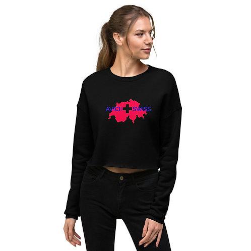 AVICII SWISS Crop Sweatshirt