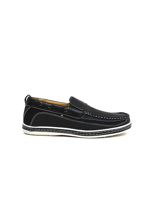 Carson Boat Shoes Black