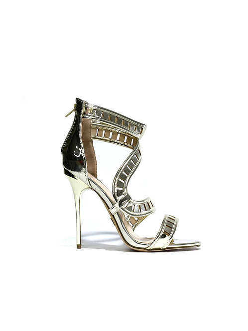 Gold Mirror High Heel