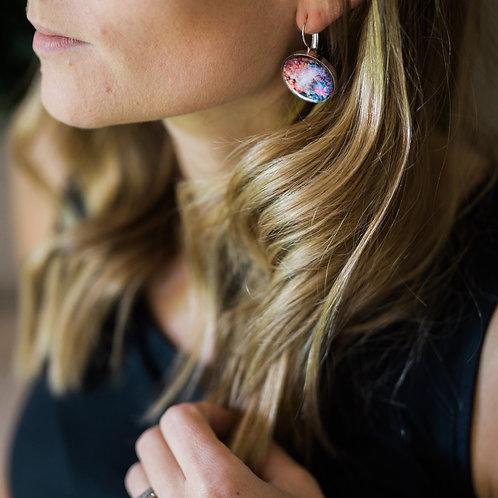 Interchangeable Nebula Earrings