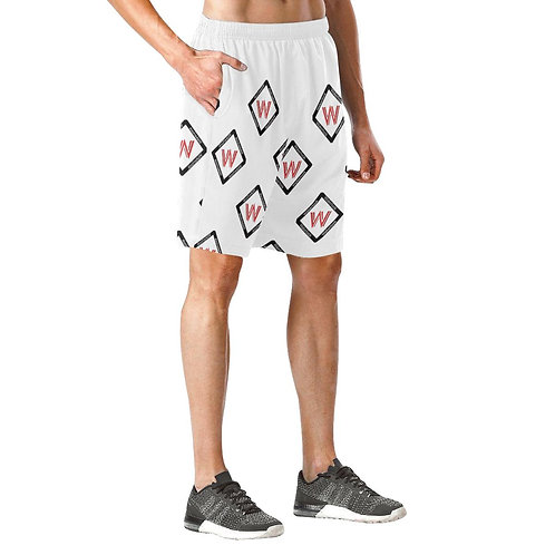 Men's Wakerlook Print Elastic Fashion Shorts