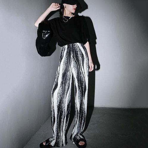 Yumi Pleated Wide Leg Pants