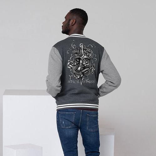 AVICII SWISS Dagger Men's Letterman Jacket
