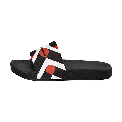 Red Design Men's Slide Sandals
