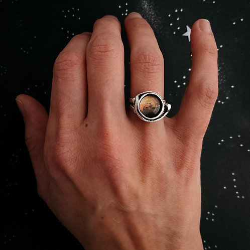 Mars and Moons Ring