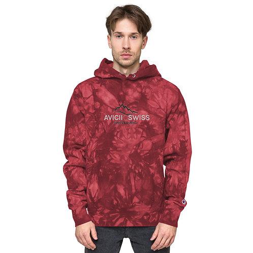 AVICII SWISS -  Champion Collaboration tie-dye hoodie(Unisex)