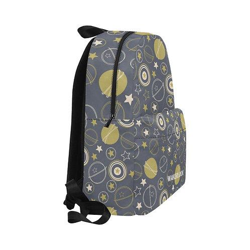 Stars Earth Moon All-Over Print Unisex Wakerlook Backpacks