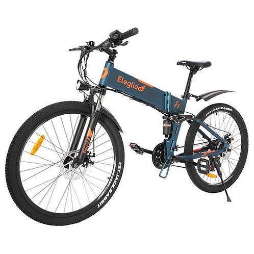 F1 Folding Electric Bike 26 inch Mountain Bicycle 250W Hall Brushless Motor SH