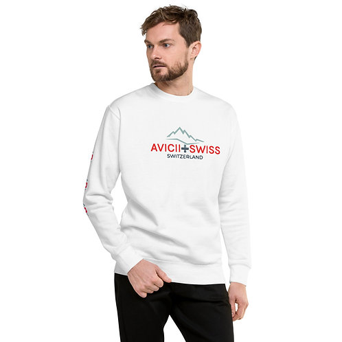 AVICII SWISS Unisex Fleece Pullover