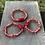 Thumbnail: Coral Trio Bracelet Set