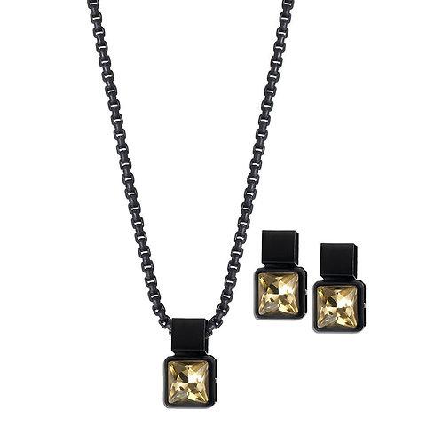 Coal Necklace-Tan