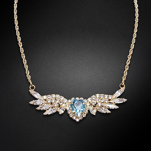 """""""Angel Wings"""" pendant with Crystals From Swarovski™"""