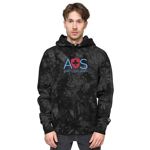 AVICII SWISS - Champion Collaboration tie-dye hoodie