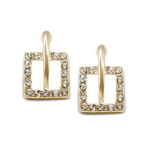 Lucy Earrings-Gold