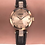 Thumbnail: Facet Strass Swiss Ladies Watch J5.615.S