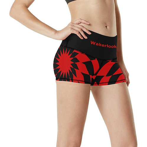Women's Wakerlook Print Slim Shorts