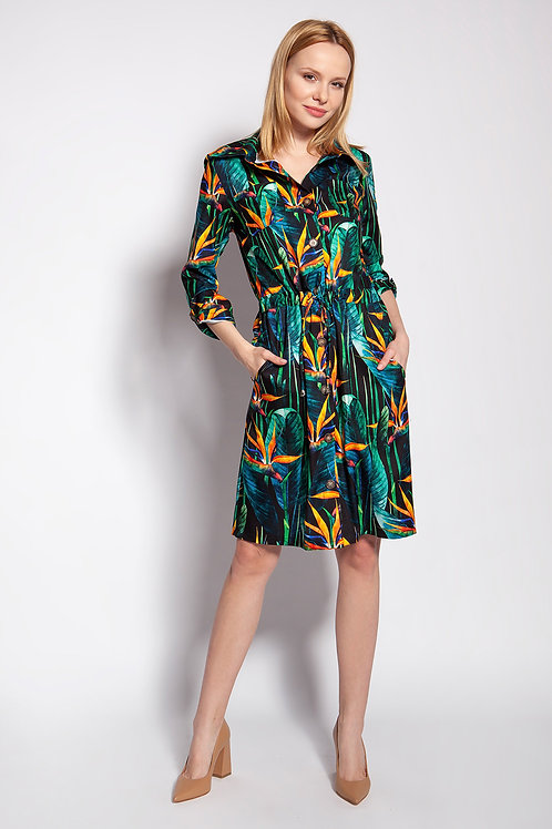 Dress Sukienka Model SUK184 Bambus - Lanti