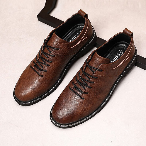 Top Quality Oxfords British Style Men Flats Dress Shoes Business Formal Shoes