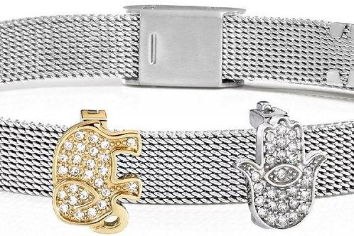Morellato Sensazioni Stainless Steel Mesh SAJT27 Women's Bracelet.