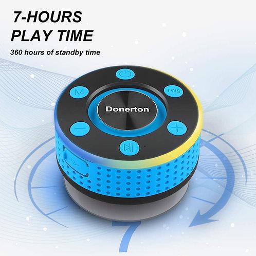 Bluetooth Shower Speaker, IP7 Waterproof Wireless Speakers with HD Sound Stereo