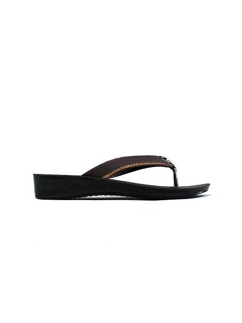 Simple Flip Flop Brown