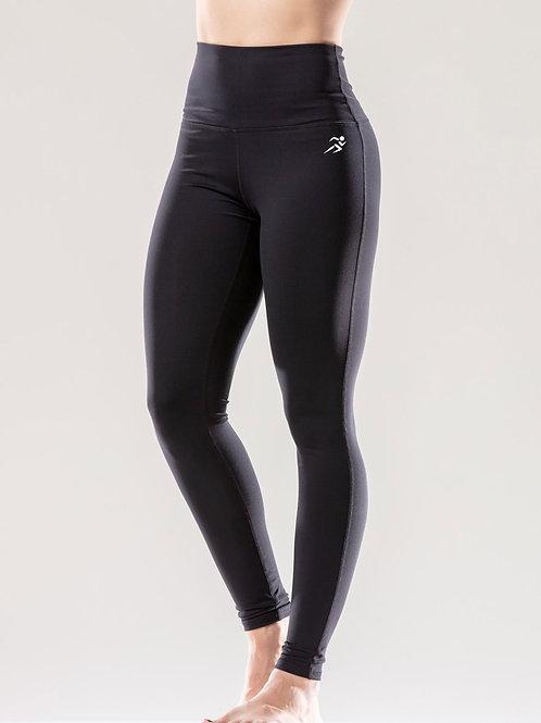 Puissante High-Waisted Full-Length Black Leggings AVICII SWISS - SAVOY ACTIVE