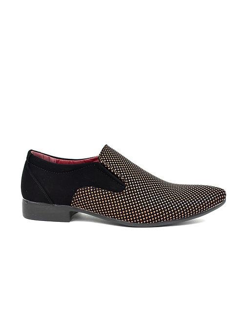 Men's Contrast Slip on Brown/Black