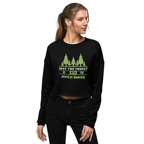 AVICII SWISS Nature Crop Sweatshirt