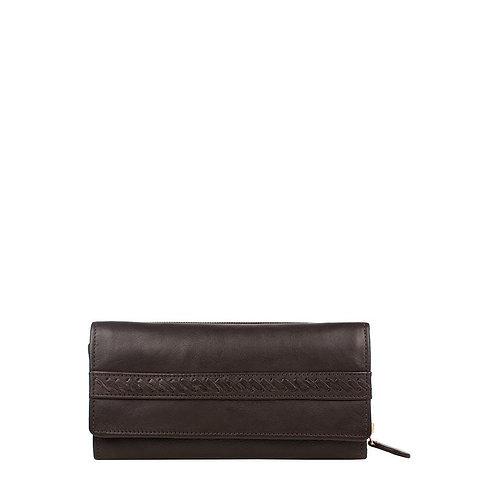 Mina RFID Blocking Trifold Leather Wallet